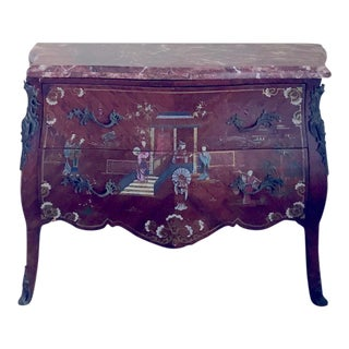 Chinoiserie Bombe Chest
