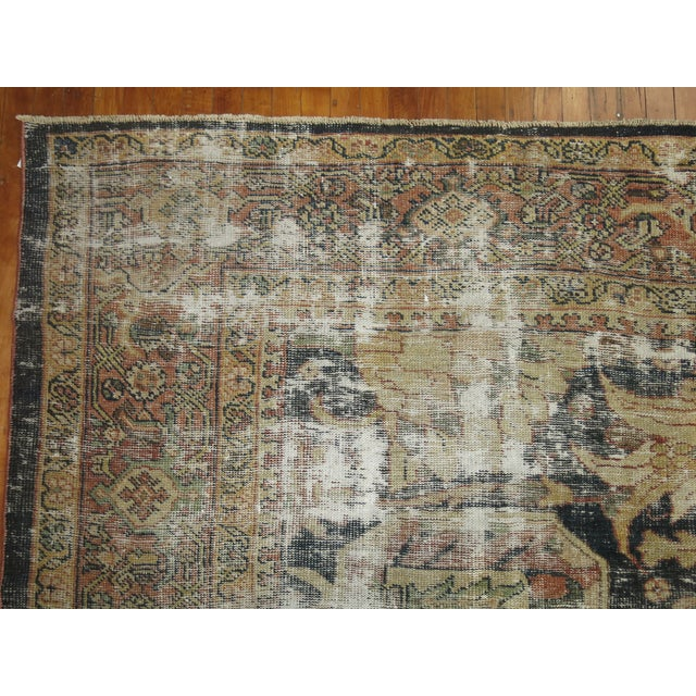 Distressed Persian Sultanabad Rug - 8'7'' x 11'9'' - Image 9 of 10