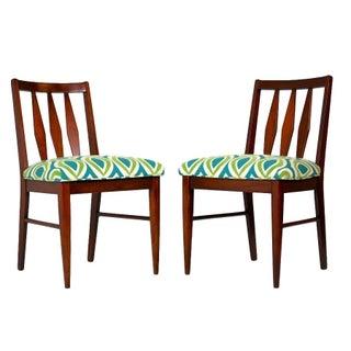 Midcentury Teak Side Chairs - A Pair