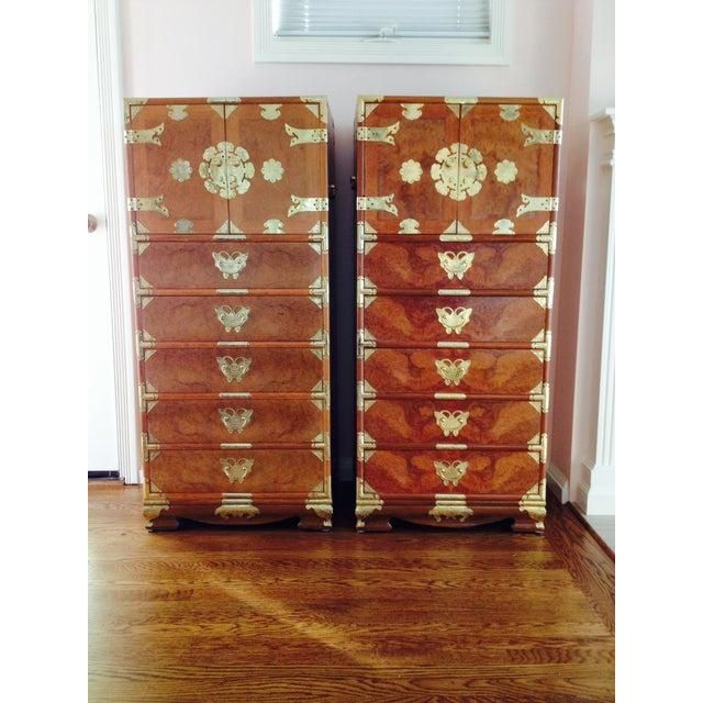 Vintage Asian Camphorwood Dresser - Image 5 of 8