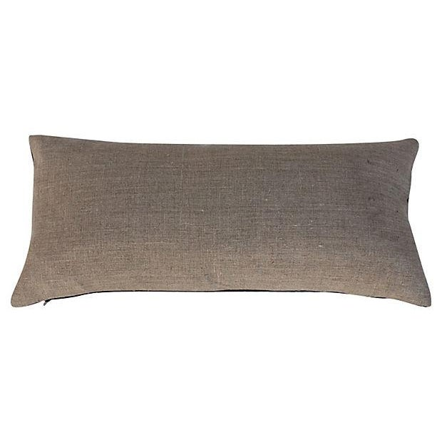 Silk Hill Tribe Indigo Textile Pillow - Image 2 of 4
