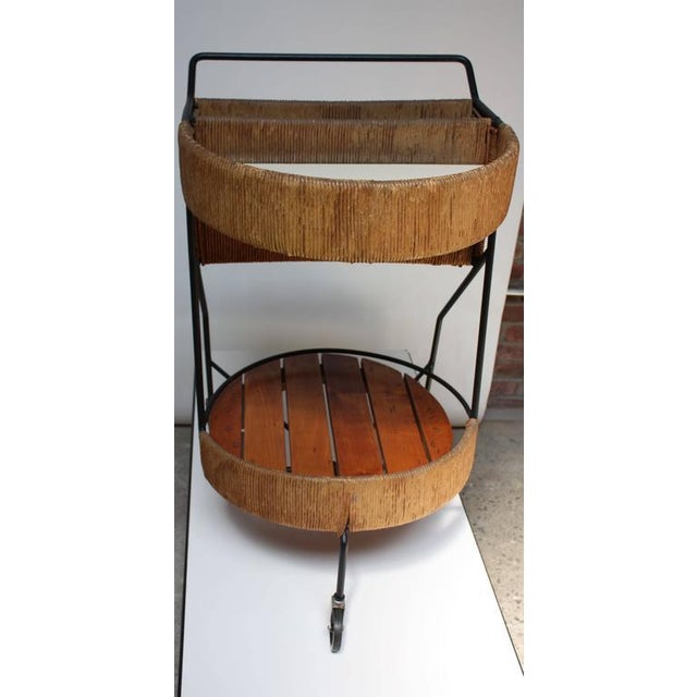 Image of Arthur Umanoff Two-Tier Bar Cart