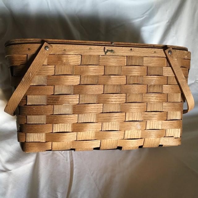 Vintage Basketville Putney Picnic Basket - Image 2 of 6