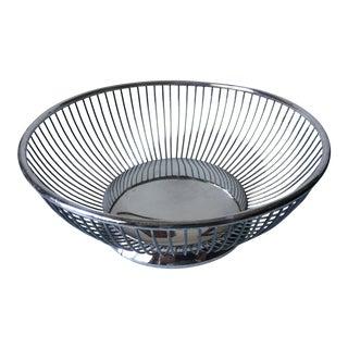Vintage Gorham Silver Wire Bread Basket