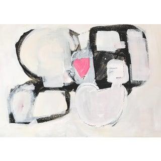 "Kerri Rosenthal Original ""A Moment"" Painting"