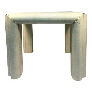 Snakeskin Karl Springer Style Table