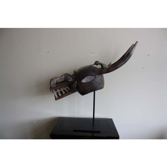 McGuire Ivory Coast Senofu Spider Helmet Mask - Image 3 of 7