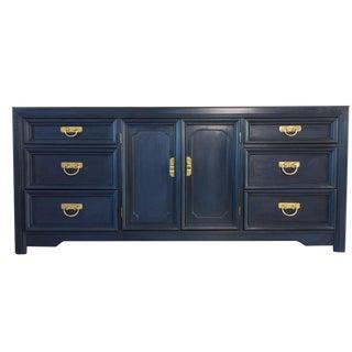 Napoleonic Blue Storage Dresser