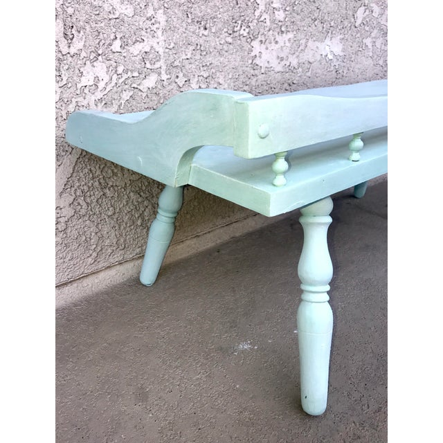 Shabby Chic Painted Farmhouse Style Coffee Table - Image 7 of 10