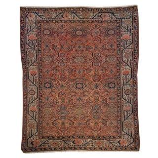 19th Century Malayer Carpet - 4′4″ × 6′6″