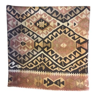 Blush Toned Kilim Pillow