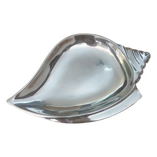 Silver Seashell Tray