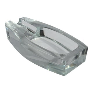 Dunhill English Gentlemen's Crystal Cigar Ashtray or Accent