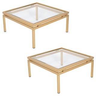 Pierre Vandel French Side Tables- A Pair