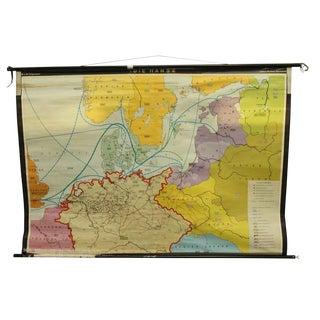 Dies Hanse Norwegian School Map