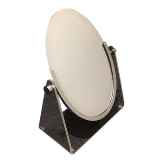 Acrylic and Chrome Vanity Mirror by Charles Hollis Jones