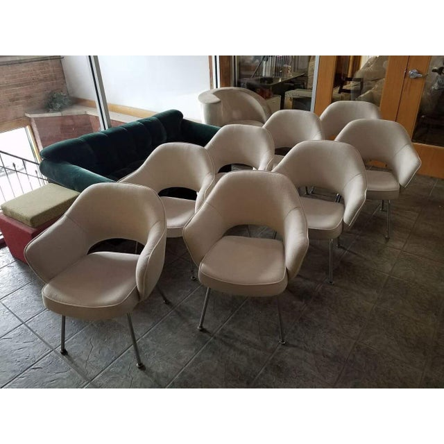 Saarinen for Knoll Executive Armchairs - Set of 6 - Image 6 of 6