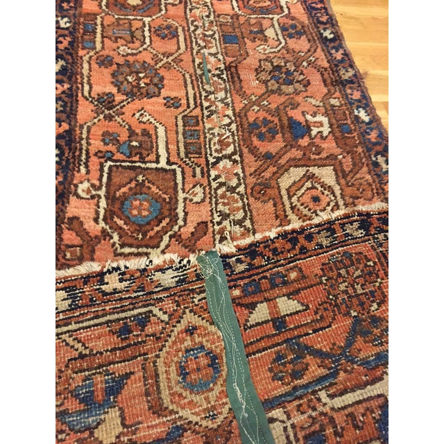 Vintage Hand Woven Persian Runner - 2′6″ × 8′ - Image 5 of 10