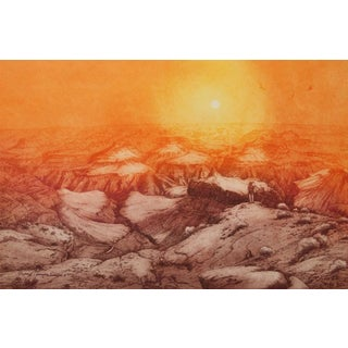 "Roy Purcell, ""Grand Canyon Ii,"" Etching"
