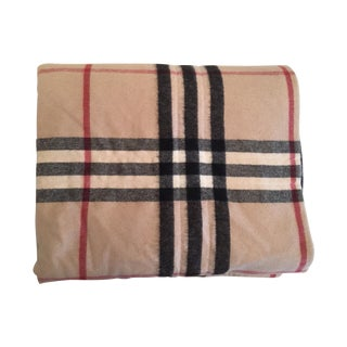 Burberry Signature Cashmere & Silk Throw