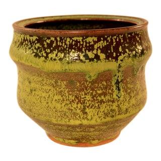 Vintage Studio Pottery Cache Pot Vase