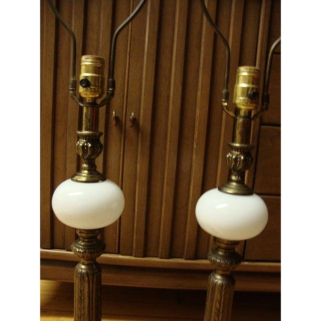 Hollywood Regency Lamps - Pair - Image 3 of 8