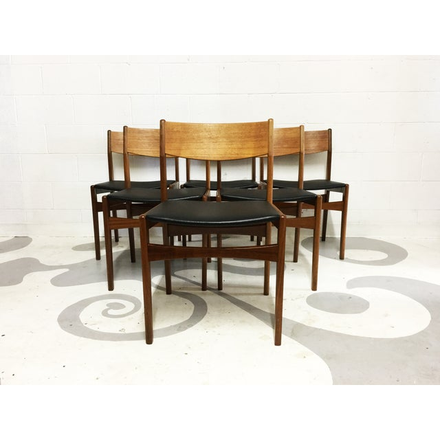 Mid-Century Poul Volther Teak Chairs - Set of 6 - Image 2 of 6