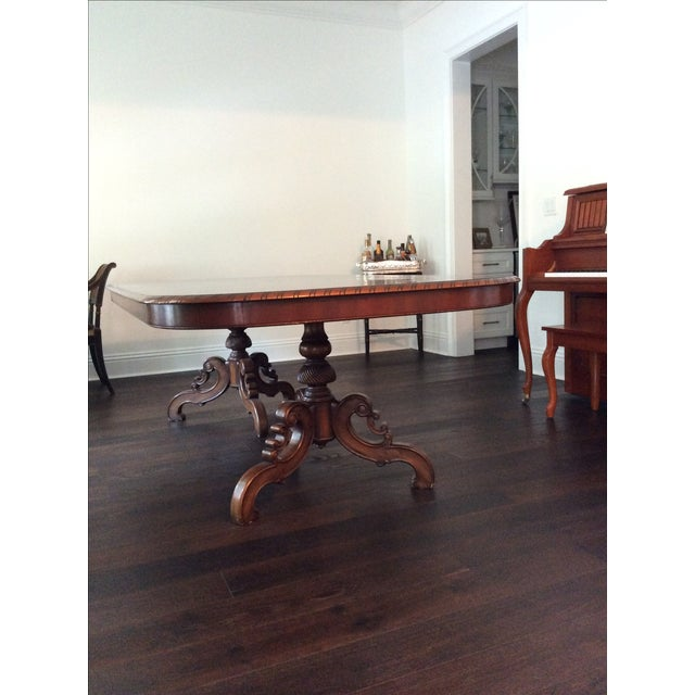 Alfonso Marina Solid Walnut Dining Table - Image 2 of 7