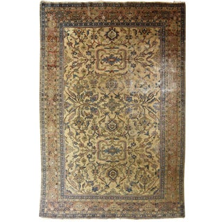 Antique Persian Sultanabad Mahal Carpet