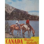 Image of 1950s Vintage Canadian Travel Poster