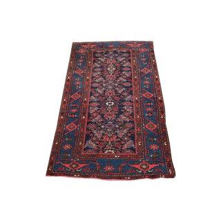 Antique Persian Village Rug- 3′4″ × 6′7″