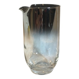 Silvertone Ombre Cocktail Pitcher