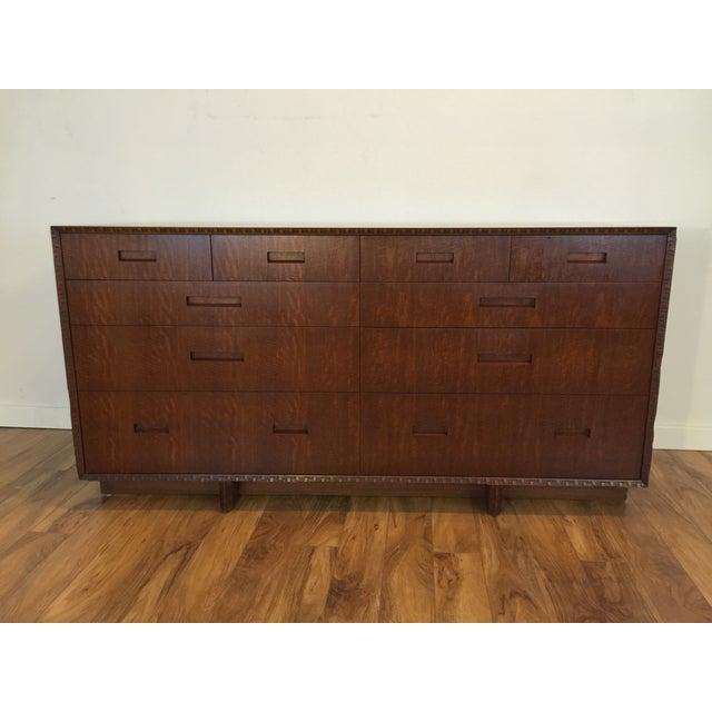 Image of Frank Lloyd Wright Mid Century Dresser