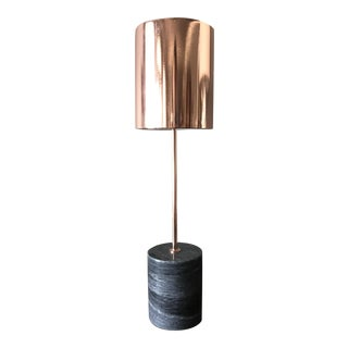 Copper Marble Table Lamp
