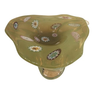 Vintage Mid Century Modern Murano Glass Bowl