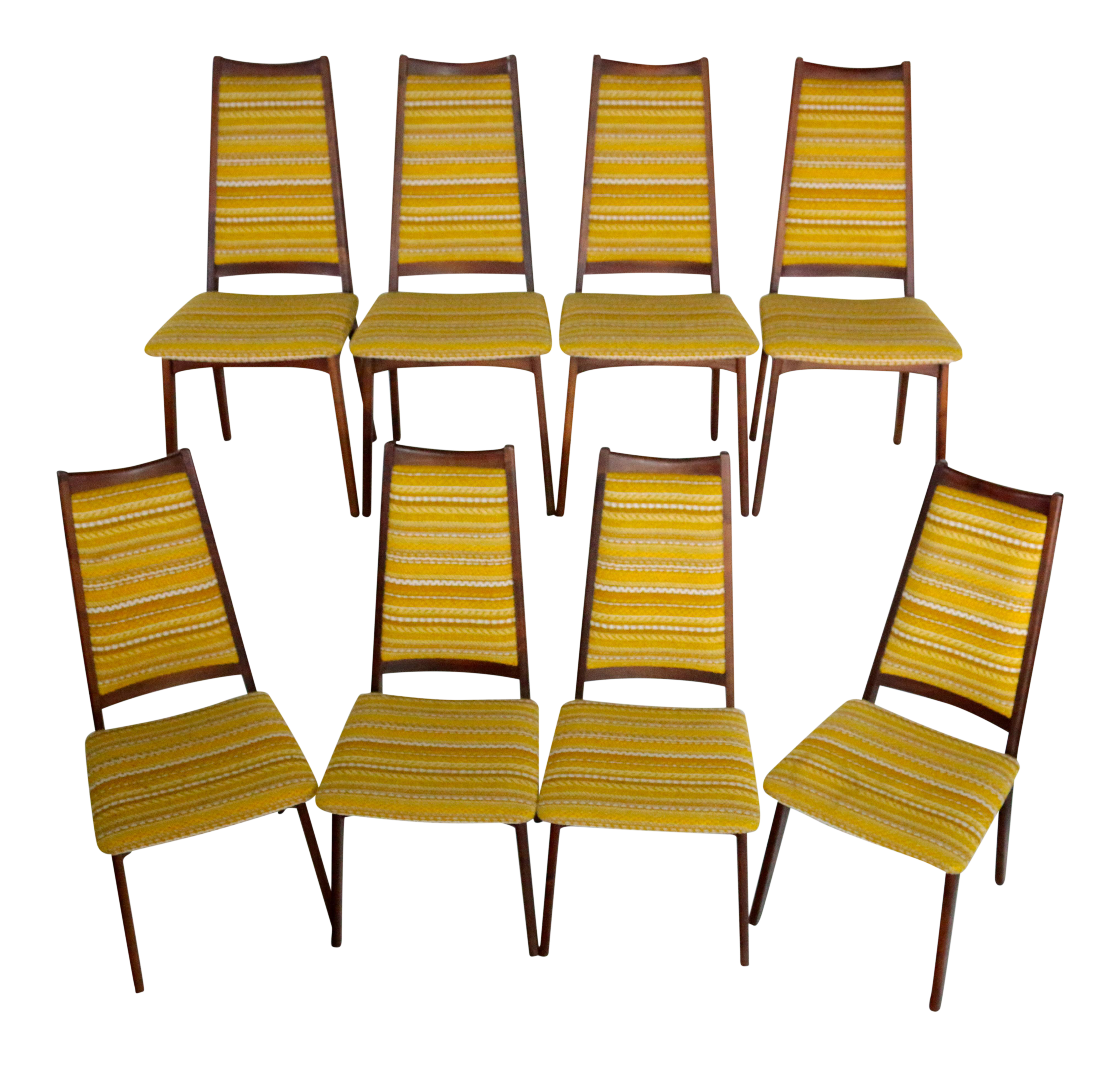 Vintage Used Yellow Dining Chairs Chairish