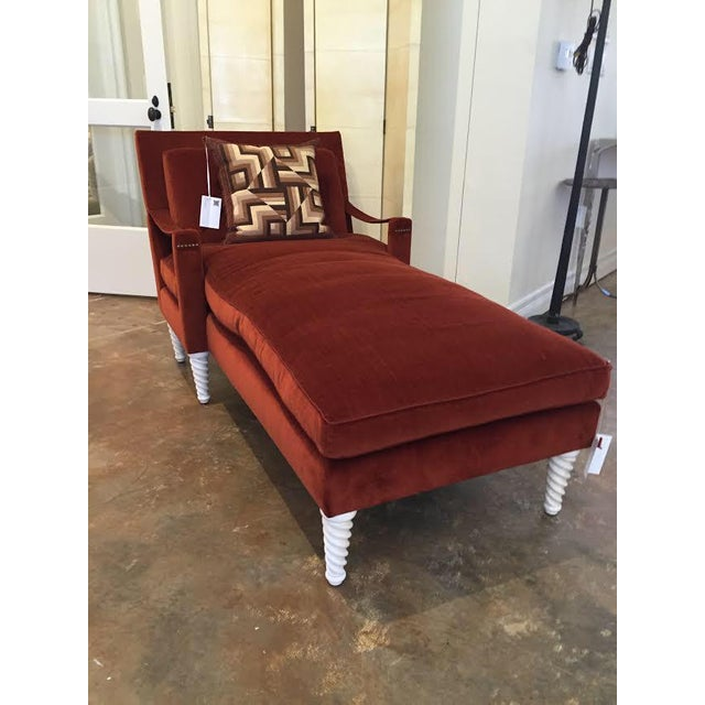 "Truex American Furniture ""Pauline Chaise"" - Image 5 of 5"