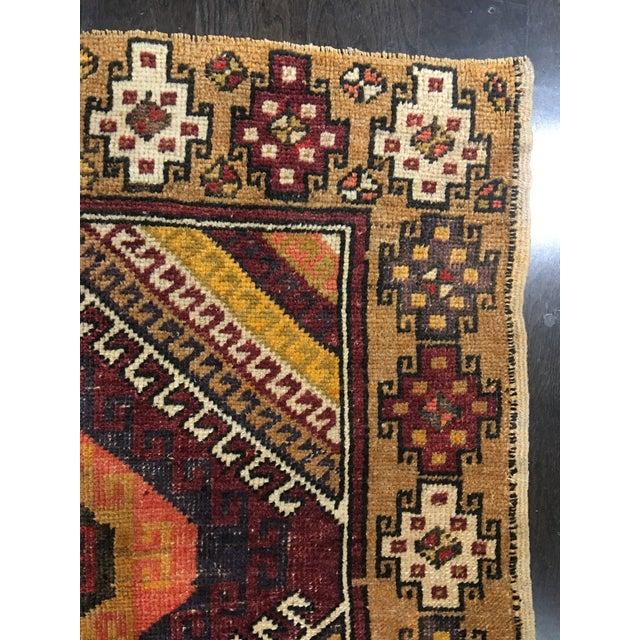 "Bellwether Rugs Vintage Turkish Oushak Rug - 4'1""x8'11"" - Image 8 of 9"