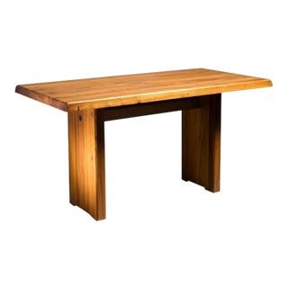 Pierre Chapo Elm Dining Table, France, 1960s