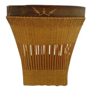 Woven Asian Basket