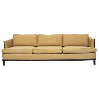 Milo Baughman Style Modernist Geometric Sofa