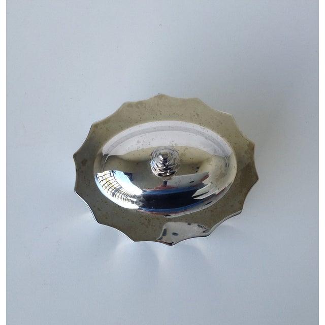 Silverplate Moorish Lidded Keepsake Box - Image 9 of 9