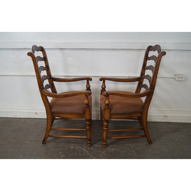 French Country Ladder Back Dining Chairs Set Of 10