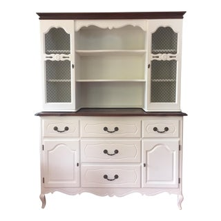 Vintage French Provincial Hutch