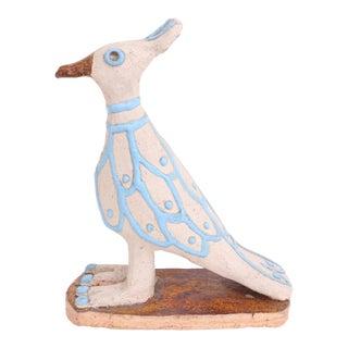 Mid-Century Modern Handmade Studio Pottery Bird
