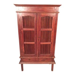 Antique Hutch/China Bali China Cabinet