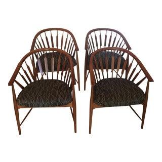 Kipp Stewart Stuart MacDougall for Drexel Declaration Arrow Back Chairs - Set of 2