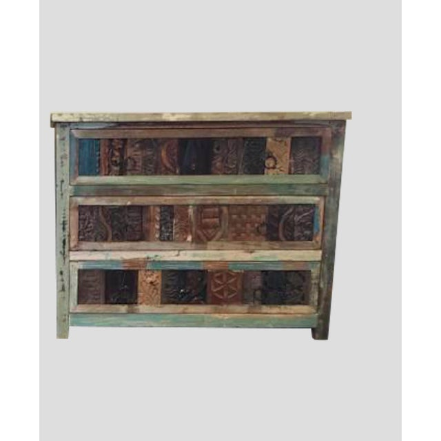 Hand-Crafted Reclaimed Dresser - Image 2 of 4