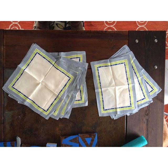 16-Piece Vintage Napkin & Placemat Set - Image 2 of 5