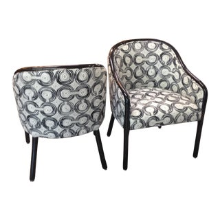 Mid Century Landmark Guest Chairs - Pair